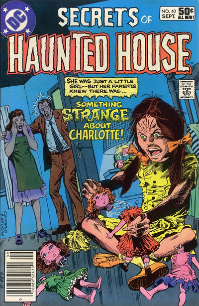 Cover for Secrets of Haunted House (DC, 1975 series) #40 [Direct Sales]