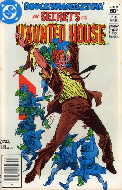 Cover for Secrets of Haunted House (DC, 1975 series) #46 [Direct Sales]