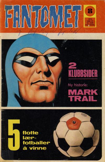 Cover for Fantomet (Romanforlaget, 1966 series) #8/1972
