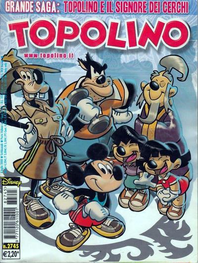 Cover for Topolino (The Walt Disney Company Italia, 1988 series) #2745