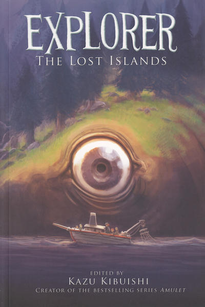 Cover for Explorer: The Lost Islands (Harry N. Abrams, 2013 series)