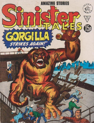 Cover for Sinister Tales (Alan Class, 1964 series) #163