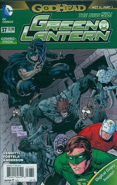 Cover for Green Lantern (DC, 2011 series) #37