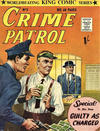 Cover for Crime Patrol (Archer, 1953 series) #5