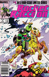 Cover Thumbnail for Rocket Raccoon (1985 series) #4 [Newsstand]