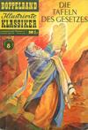 Cover for Illustrierte Klassiker Doppelband [Classics Illustrated] (BSV - Williams, 1958 series) #8 - Die Tafeln des Gesetzes