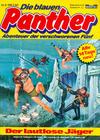 Cover for Die blauen Panther (Bastei Verlag, 1980 series) #8 - Der lautlose Jäger
