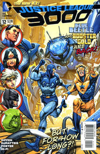 Cover Thumbnail for Justice League 3000 (DC, 2014 series) #12