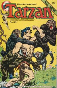 Cover Thumbnail for Edgar Rice Burroughs' Tarzan (K. G. Murray, 1980 series) #23