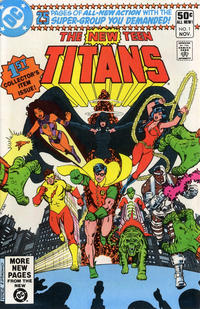Cover Thumbnail for The New Teen Titans (DC, 1980 series) #1 [Direct Sales Variant]