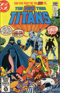 Cover Thumbnail for The New Teen Titans (DC, 1980 series) #2 [Direct]