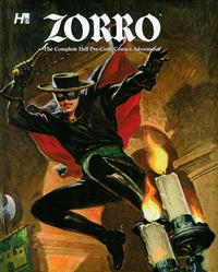 Cover Thumbnail for Zorro - The Complete Dell Pre-Code Comics Adventures (Hermes Press, 2014 series)