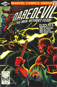 Cover for Daredevil (Marvel, 1964 series) #168 [Direct Edition]