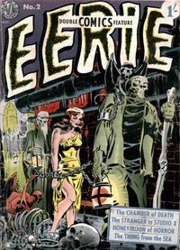 Cover Thumbnail for Eerie (Thorpe & Porter, 1952 series) #2