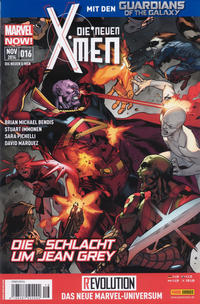 Cover Thumbnail for Die neuen X-Men (Panini Deutschland, 2013 series) #16