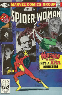 Cover Thumbnail for Spider-Woman (Marvel, 1978 series) #32 [Direct]