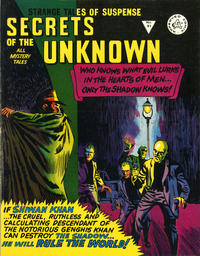 Cover Thumbnail for Secrets of the Unknown (Alan Class, 1962 series) #91
