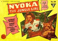 Cover Thumbnail for Nyoka the Jungle Girl (Cleland, 1949 series) #24