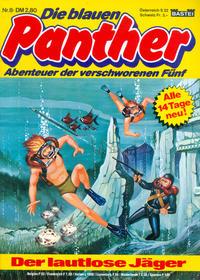 Cover Thumbnail for Die blauen Panther (Bastei Verlag, 1980 series) #8 - Der lautlose Jäger