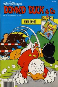 Cover Thumbnail for Donald Duck & Co (Hjemmet / Egmont, 1948 series) #25/1990