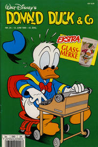 Cover Thumbnail for Donald Duck & Co (Hjemmet / Egmont, 1948 series) #24/1990