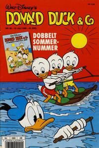 Cover Thumbnail for Donald Duck & Co (Hjemmet / Egmont, 1948 series) #28/1990