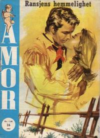 Cover Thumbnail for Amor (Serieforlaget / Se-Bladene / Stabenfeldt, 1961 series) #26/1962