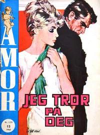 Cover Thumbnail for Amor (Serieforlaget / Se-Bladene / Stabenfeldt, 1961 series) #15/1965
