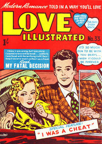 Cover Thumbnail for Love Illustrated (Magazine Management, 1952 series) #33