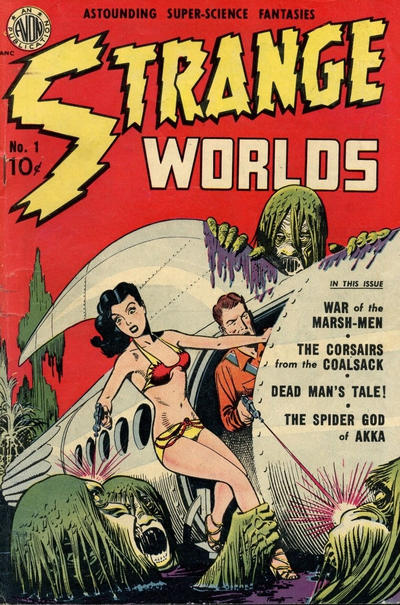Cover for Strange Worlds (Superior Publishers Limited, 1951 series) #1