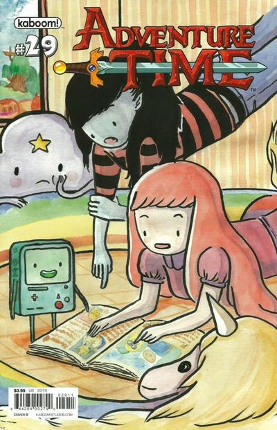 Cover for Adventure Time (Boom! Studios, 2012 series) #29 [Denver Comic Con Exclusive Cover]