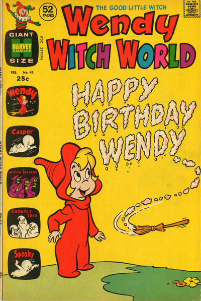 Cover for Wendy Witch World (Harvey, 1961 series) #43