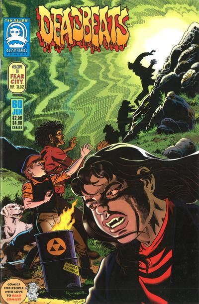 Cover for Deadbeats (Claypool Comics, 1993 series) #60