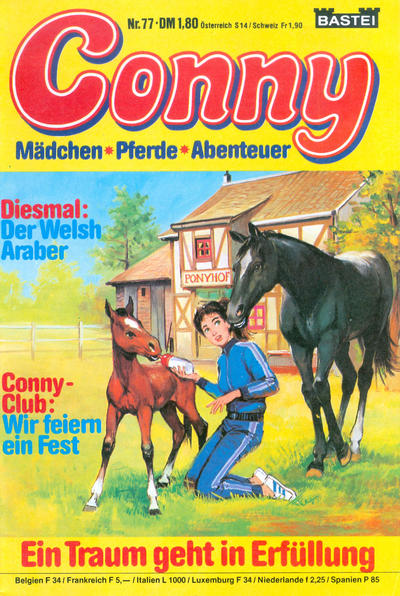 Cover for Conny (Bastei Verlag, 1980 series) #77