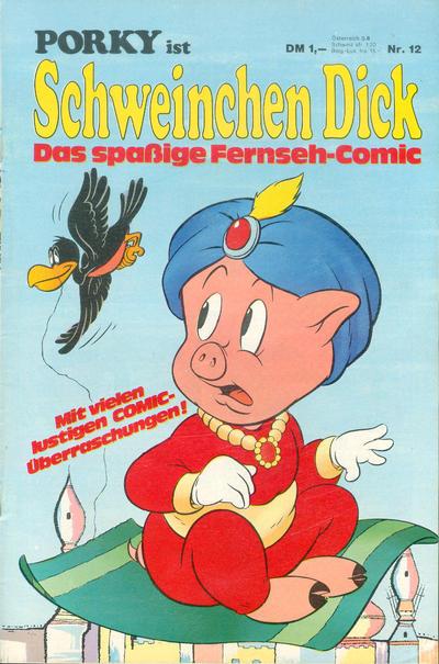 Cover for Schweinchen Dick (Willms Verlag, 1972 series) #12