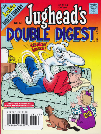 Cover for Jughead's Double Digest (Archie, 1989 series) #60 [Newsstand]