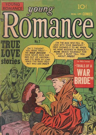 Cover for Young Romance (Derby Publishing, 1948 series) #7