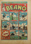 Cover for The Beano Comic (D.C. Thomson, 1938 series) #188