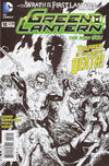 Cover Thumbnail for Green Lantern (2011 series) #18 [Gary Frank Black & White Cover]
