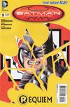 "Cover for Batman Incorporated (DC, 2012 series) #9 [Chris Burnham ""Shattered Bat-Symbol"" Cover]"