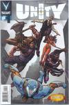 Cover for Unity (Valiant Entertainment, 2013 series) #1 [Cover Q - DCBS Exclusive - Khari Evans]