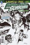 Cover Thumbnail for Green Lantern: New Guardians (2011 series) #24 [Rafael Albuquerque Black & White Cover]