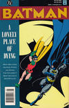 Cover for Batman: A Lonely Place of Dying (DC, 1990 series) #[nn] [Newsstand]