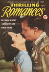 Cover for Thrilling Romances (World Distributors, 1950 ? series) #7