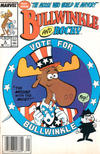 Cover for Bullwinkle and Rocky (Marvel, 1987 series) #8 [Newsstand Edition]