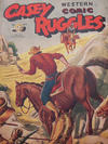 Cover for Casey Ruggles Western Comic (Donald F. Peters, 1951 series) #9