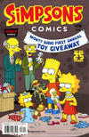 Cover for Simpsons Comics (Bongo, 1993 series) #216