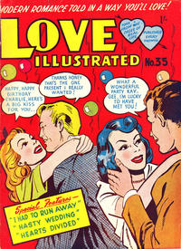 Cover Thumbnail for Love Illustrated (Magazine Management, 1952 series) #35