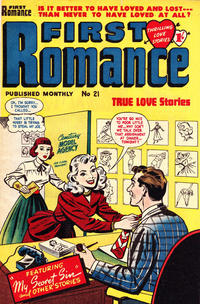 Cover Thumbnail for First Romance (Magazine Management, 1952 series) #21