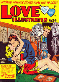 Cover Thumbnail for Love Illustrated (Magazine Management, 1952 series) #34